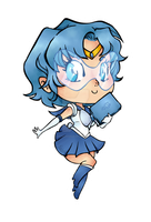 Mini Sailor Mercury by Natachouille