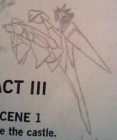 *looks like an origami servant thing to me... by AsLinesComeTogether