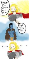 Thor to the rescue.......? by SeniorPotato