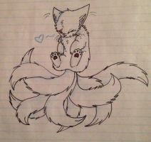 Nine-Tailed Snowstorm by Snowstorm102