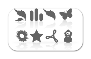 PhotoPro reflection icons by morinetti