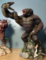 Kong Vs Serpent finished by Legrandzilla