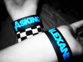 Asking Alexandria Bracelets by SuicideSeason10