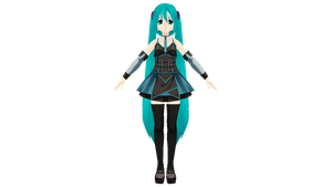 Custom Maid 3D Miku by Haruhi-chan4ever