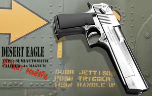 Desert Eagle 3D design by gudikano