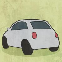 Tiny Car by scribblepuff