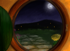 The Hobbit Hole by black-labrador