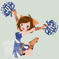 cheerleader by ijographicz