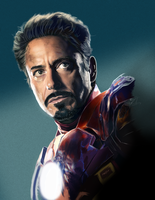 iron man by fungila