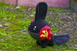 Pokemon Soviet Mudkip by arixystix