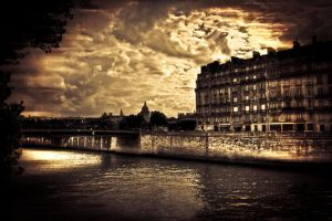 Paris - Lanscape by 3lRem
