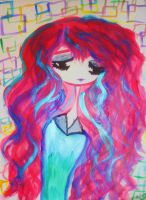 Long haired by NicolletteNikkiAce