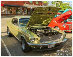 A Sharp Green Mustang by TheMan268