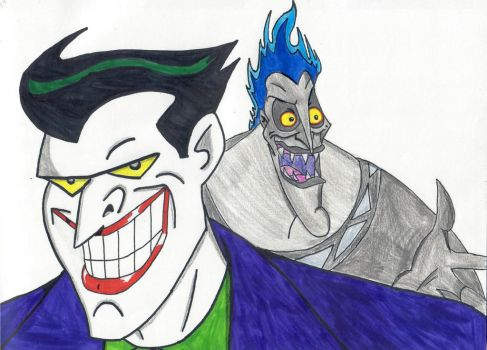 Joker and Hades by ElvisPresleyFan3577