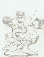 Ariel sketch by gizmar