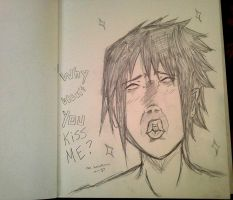 Y U NO KISS ME?! I'M SASUKE! by Snipes101