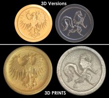 3D Print of Medals by newhere