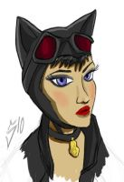 Catwoman by SINGLETON930