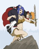 KONAN THE BARBARIAN by TalonArt