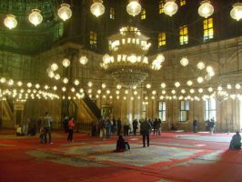 Cairo Mosque by Morethantoday