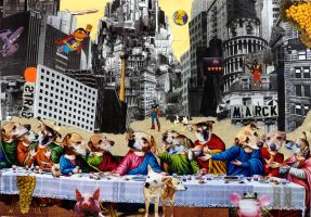Last Supper Dogs by Tim-Roeloffs