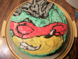 King Scourge Double Layer Cake by VocalDawn
