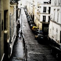 Monmartre after rain by Krapivka2007