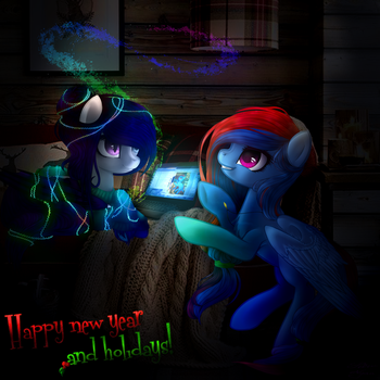 Happy New Year by NeoTyan