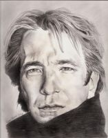 Alan Rickman by fidei-defensor1278