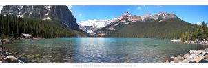 Lake Louise - Panorama by tamauz
