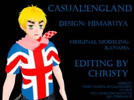 APHxMMD Casual England. by SomeoneCoolerThanYou