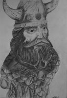 Googly Eyed Viking by The-Wheels