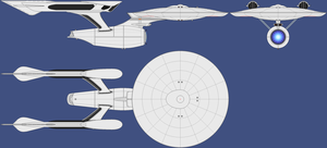 Star Trek 'Curvy Connie' 3view Wip by Danny420Dale