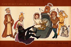 Star Wars Christmas by ororokusanagi