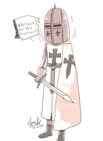 + APH: Prussia in Heavy Armor ^^ + by Serket-XXI