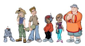 Mammoth City Messengers_lineup by tombancroft