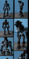bionicle: queltus knight of the desert by CASETHEFACE