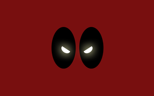 Marvels Deadpool Minimalist Wallpaper by NightLightArt