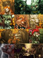 Halloween and Fall Icons by Ifus