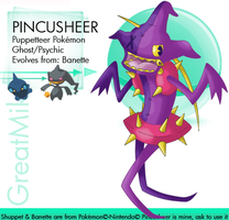 Pincusheer by GreatMik