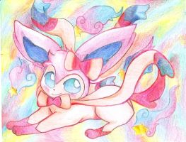 :Sylveon: by WhiteFoxShokoro