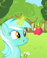 lyra loves apples by QCryzzy