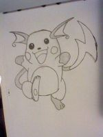 Raichu by Legendrawing