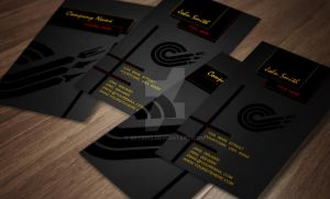 Banner Business Card Design by bry5012