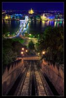 Budapest At Night 04 by miki3d