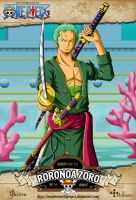 One Piece - Roronoa Zoro by OnePieceWorldProject
