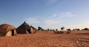 Camp in the Sahel, Burkina by ABDportraits