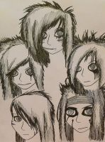 The Black Veil Brides by kittykatc666