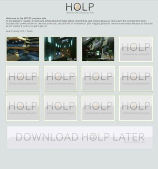 HOLP 2 Preview Inaction by barballs