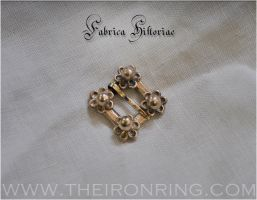 Medieval jewel brooch by TheIronRing